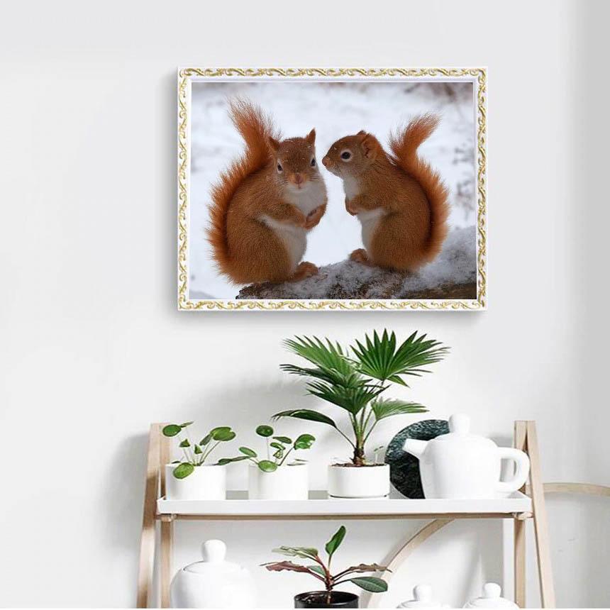Deux ecureuils